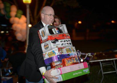 Toy donations for underpriviledged children - Lakeland Margarita Ball Gallery